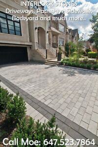 Best Way Richmond 80 Driveway Interlock Walkway Interlock Stones