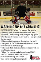 Looking for goalie for pickup game Fridays at ScotiaBank Pond