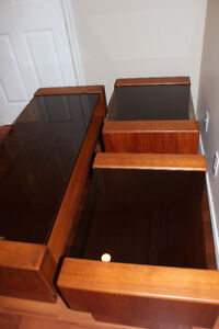 Pair of Teak End Tables - $350