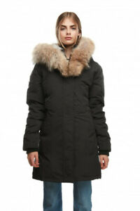 675b6b2489c17 Arctic North Black Parka Winter Jacket