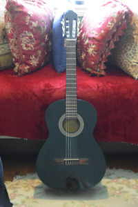 Lucero Classical Guitar with Road Runner Guitar Case - $220 OBO