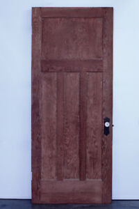Porte antique en BC FIR