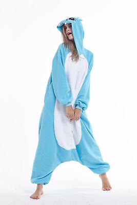 Women Men Unisex Adult Onesie0 Animal Hippo Kigurumi Pajamas Cosplay - Mens Animal Onesie