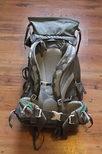 Gregory Contour 70L backpack + raincover. Asking $100.
