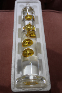 Brandnew Galileo Thermometer in Box Large Size