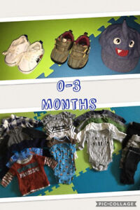 Size 0 - 3 months Baby Clothes