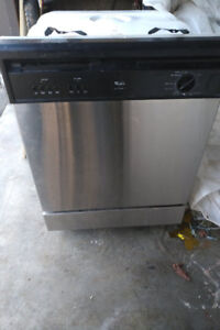 Whirlpool Stainless Steel Dishwasher Quiet Series 1 24 Inch