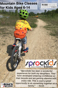 Learn to Ride Mountain Bikes Courses for kids (and parents)