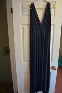 Navy Blue Infinity Dress