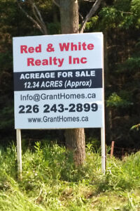 ***VACANT LAND *** 12 & 14 ACRE LOTS** HWY 9**