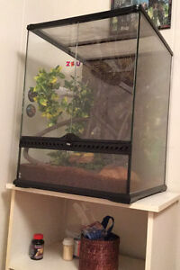 Two gecko tanks for sale