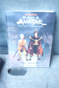 Graphic Novel Hard Cover Avatar With Jump Figure