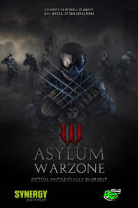 Asylum Warzone a BYOP paintball event