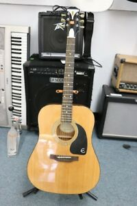 **GORGEOUS SOUND** Epihone PRO-1 NA Acoustic Guitar - 1983
