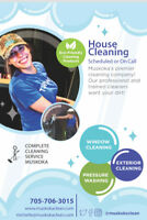 Home and Cottage Cleaners - 705-706-3015