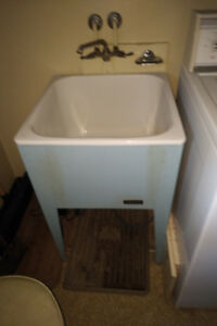 Vintage Laundry Tubs And Faucets - Various Models and Sizes