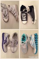 Selling various casual shoes Reebok, UGG, ASH. Sizes 6.5 or 7