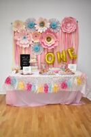 SWEETS TABLE & PARTY PLANNING SERVICES: Birthdays & Weddings