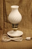 Vintage Milkglass Lamps assorted price/ea.