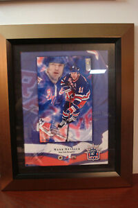 Mark Messier signed Print Rangers