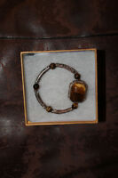 Tigers Eye Bracelet. Very nice and well made..