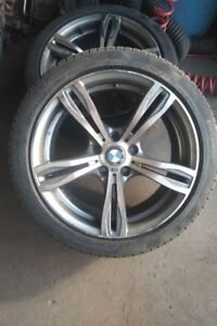 Mags Complete with Winter Tires for BMW - 225/45/R18