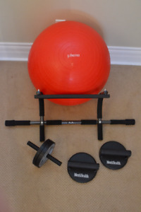 Men's Health Kit with 75cm Exercise Ball