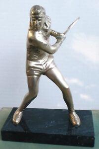 BRONZE STATUETTE OF BJORN BORG + LAWN TENNIS 1937 !!!