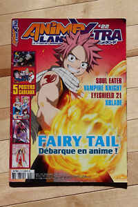 FAIRY TAIL Magazine  + 5 Posters - Anime Land X-TRA  #22
