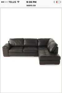 Sectional - with tags on