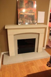 Concrete Fireplace Mantels