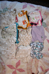9 one size fits all cloth diapers
