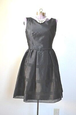1950s 50s Vintage Style Black Dress for Costume or Wear Small 4 Party - 50 Style Costumes