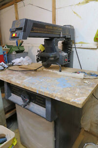 Radial bench saw