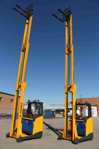 2012 REACH FORKLIFT JUNGHEINRICH ETV216VERY SMOTH AND LOW HOURS