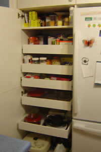 MAKE YOUR KITCHEN MORE USER FRENDLY--CUSTOM MADE ROLLING SHELVES Peterborough Peterborough Area image 8