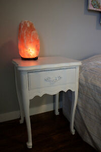 White Vintage Bedside Table