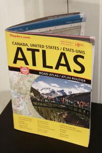 NEW Road Atlas for North America
