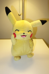 "Pokemon Pikachu Plush TOMY 8"" Stuffed Animal"