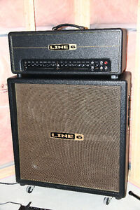Line 6 DT50 Head and DT50 4x12 Cabinet