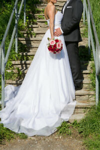 Wedding dress and wedding items