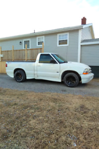 Chevy s10 with 350 swap