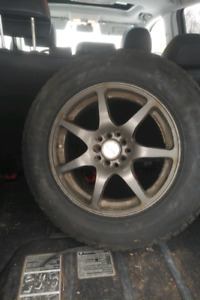 "Set of 4 Aftermarket ""fast"" wheels"