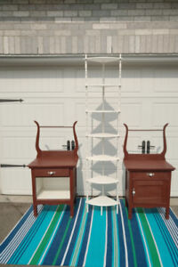 2 Antique Wash Stands, CHAIR  And SHELF ** See Each Price---