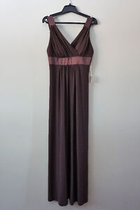 Beautiful Chocolate Brown Evening Dress (paid $200) -Tags on!
