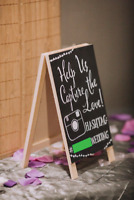 Custom Wedding Signs/Chalkboard Signs/Painted Signs -Buy or Rent
