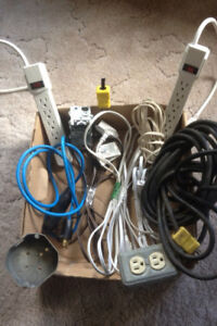 Electrical Cords(Indoor/outdoor),Fuses,Etc.For Sale