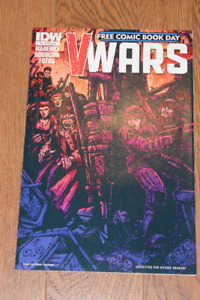 V-Wars #0 FCBD Free Comic Book Day IDW