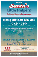 8th Annual Santas Little Helpers Christmas Shopping Extravaganza