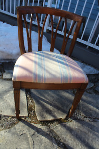 Upholstered Side Chairs - Buy 1 For $45 - 2 For $80...